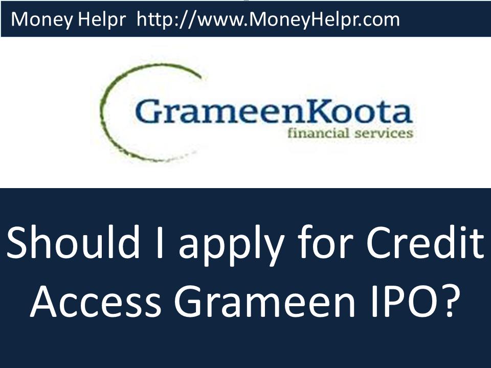 Creditaccess grameen ltd ipo